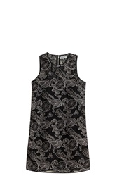 Opening Ceremony Laser Cut Shift Dress Black