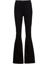 Gold Sign Goldsign 'Jolene' Flared Jeans Black