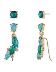 Lonna And Lilly Mismatched Earrings Gold
