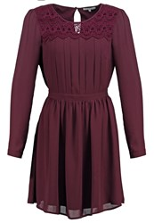 Mintandberry Summer Dress Winetasting Dark Purple