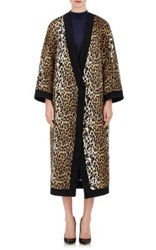 Ungaro Emanuel Women's Leopard Print Kimono Coat No Color