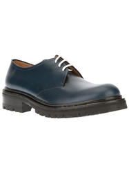 Kenzo 'Jarvis' Derby Shoes Blue