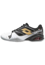 Lotto Stratosphere Outdoor Tennis Shoes Black Gold