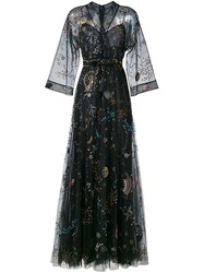 Valentino 'Astro Couture' Evening Dress Black
