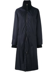 Marni Oversized Puffer Coat Blue