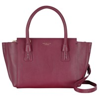 Radley Wimbledon Small Multiway Leather Shoulder Bag Red