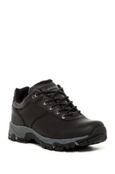 Hi Tec Altitude V Low Waterproof Leather Hiking Shoe Wide Width Available Black