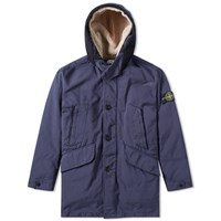 Stone Island David Tc Parka Blue