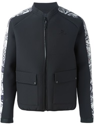 Puma Animal Print Trim Zip Jacket Black