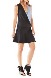 Bcbgmaxazria Women's 'Antonella' Colorblock Sleeveless Top