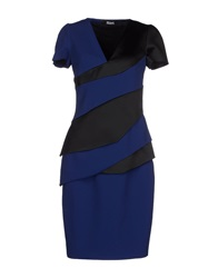 Maxime Simoens Knee Length Dresses Dark Blue