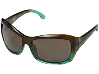 Spy Optic Farrah Mint Chip Fade Happy Bronze Polar Sport Sunglasses Blue