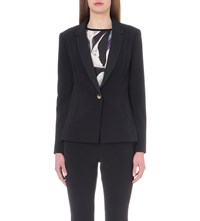 Ted Baker Zizij Stretch Crepe Jacket Navy