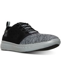 Under Armour Men's 24 7 Casual Sneakers From Finish Line Black Amalgam Gray Black