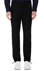 Acne Studios Men's Crop Wool Trousers Black