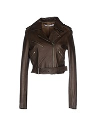 Felipe Oliveira Baptista Coats And Jackets Jackets Women Dark Green