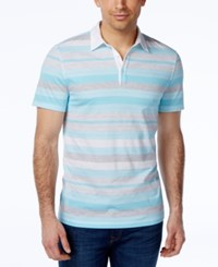 Alfani Black Men's Keen Striped Polo Only At Macy's