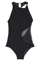 Zimmermann Swimsuit With Mesh Panel