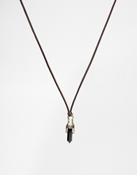 Icon Brand Wild At Heart Necklace Brown
