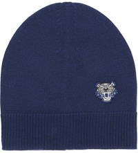 Kenzo Tiger Knitted Beanie Ink