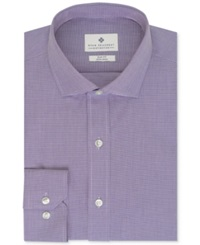 Ryan Seacrest Distinction Non Iron Slim Fit Houndstooth Dress Shirt Clear Water