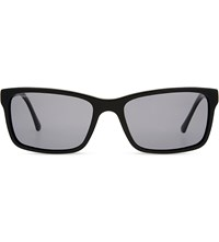 Burberry B4162 Rectangle Frame Sunglasses Black