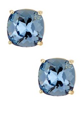 Candela Blue Denim Swarovski Crystal Stud Earrings