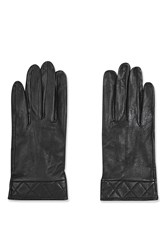 Topshop Leather Gloves Black