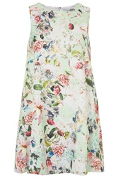 Floral Print Swing Dress By Love Mint