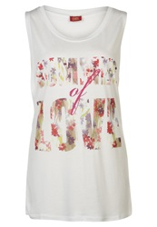 Buffalo Summerlove Top Weiss White
