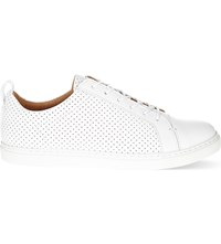 Whistles Kenley Perforated Trainers White