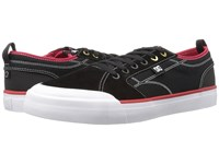 Dc Evan Smith Black Red White Men's Skate Shoes
