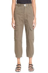 Marc By Marc Jacobs Women's Marc Jacobs Cotton Twill Cargo Pants