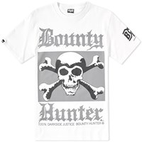 Bounty Hunter Skull Tee White