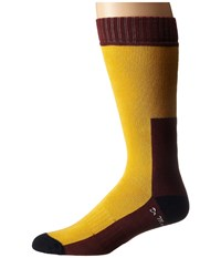 Dr. Martens Doc's Sock Yellow Navy Cherry Red Knee High Socks Shoes
