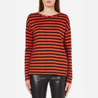 Boss Orange Women's Tibow Striped Top Multi