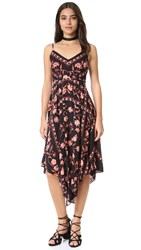 Plenty By Tracy Reese Scarf Slip Dress Floral