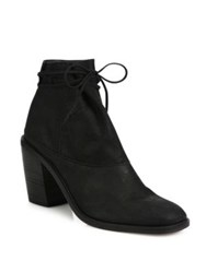 Ld Tuttle The Vow Suede Block Heel Ankle Boots Black
