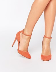 Asos Playwright High Heels Coral