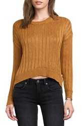Rvca Women's Thrill Me Metallic Sweater