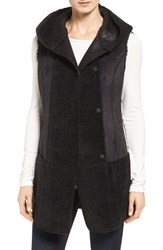 Jones New York Women's Bonded Faux Shearling Vest