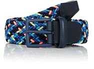 Barneys New York Braided Elastic Belt Multi