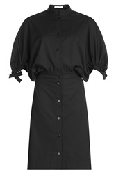J.W.Anderson J.W. Anderson Virgin Wool Dress With Statement Sleeves Stripes