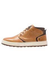 Wrangler Bruce Hightop Trainers Cognac