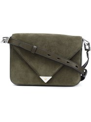 Alexander Wang Flap Fastening Crossbody Bag Green