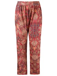 Lygia And Nanny Abstract Print Trousers Red