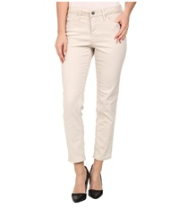 Christopher Blue Zoe Ankle Color Wash Denim In Putty Putty Women's Jeans Taupe