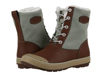 Keen Elsa Boot Wp Cocoa Desert Sage Women's Waterproof Boots Brown
