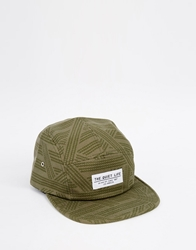 The Quiet Life Rope 5 Panel Cap Green