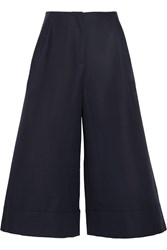 Studio Nicholson Kiku Cotton Culottes Blue